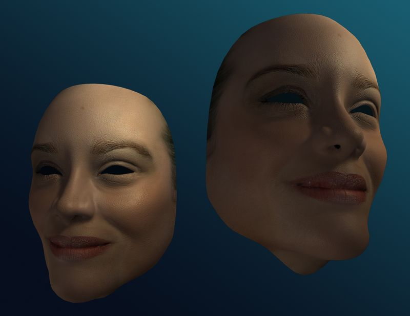 Marion Cotillard 3D